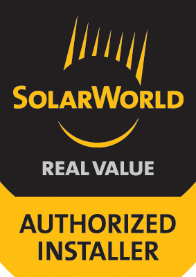 Solar World Authorized Installer of Solar Systems